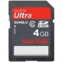 SanDisk SDHC 4GB ultra II